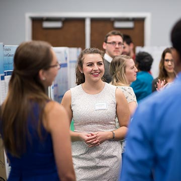 Explore Majors photo of research day