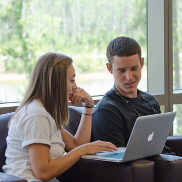 Students on Laptop
