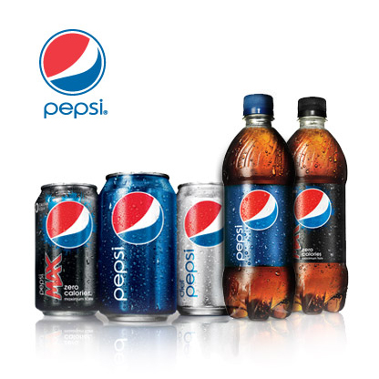 Pepsi vending products