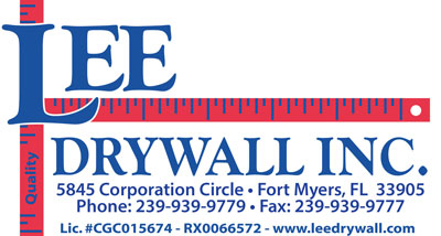 Lee Drywall Logo