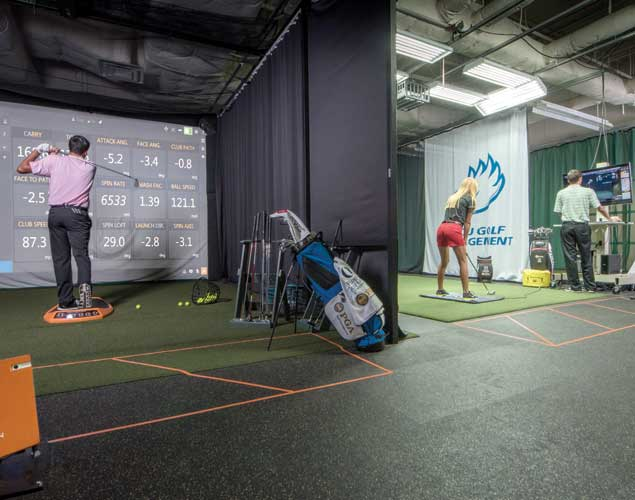 Photo of golf swing lab