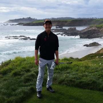 Matthew Chen at Pebble Beach