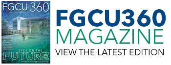 FGCU 360 Magazine featured story graphic