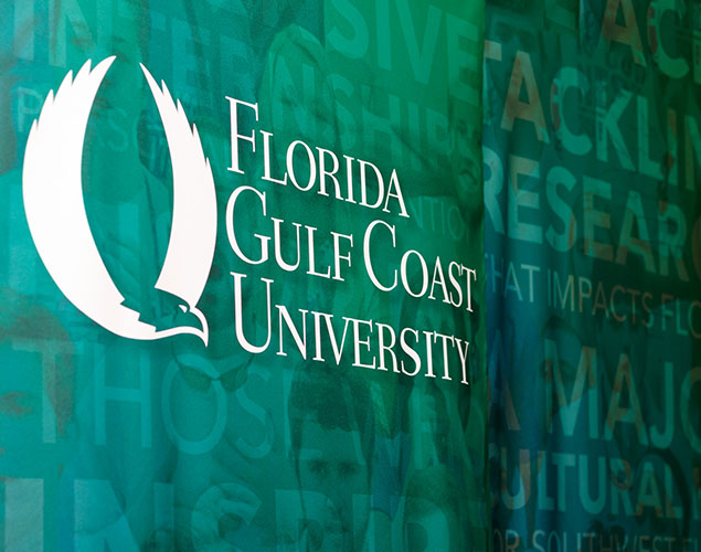 FGCU backdrop