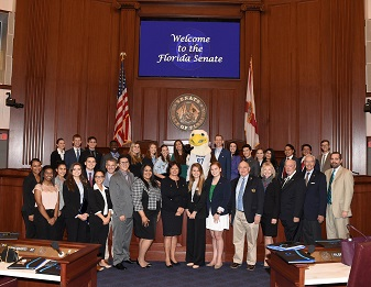 Honors Students attend FGCU Capitol Day 2018