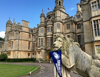 Photo of Harlaxton College courtesy of Clay Motley