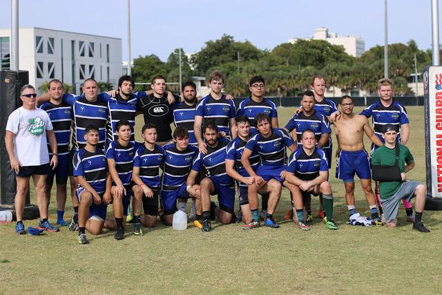 Men's Rugby Team Photo