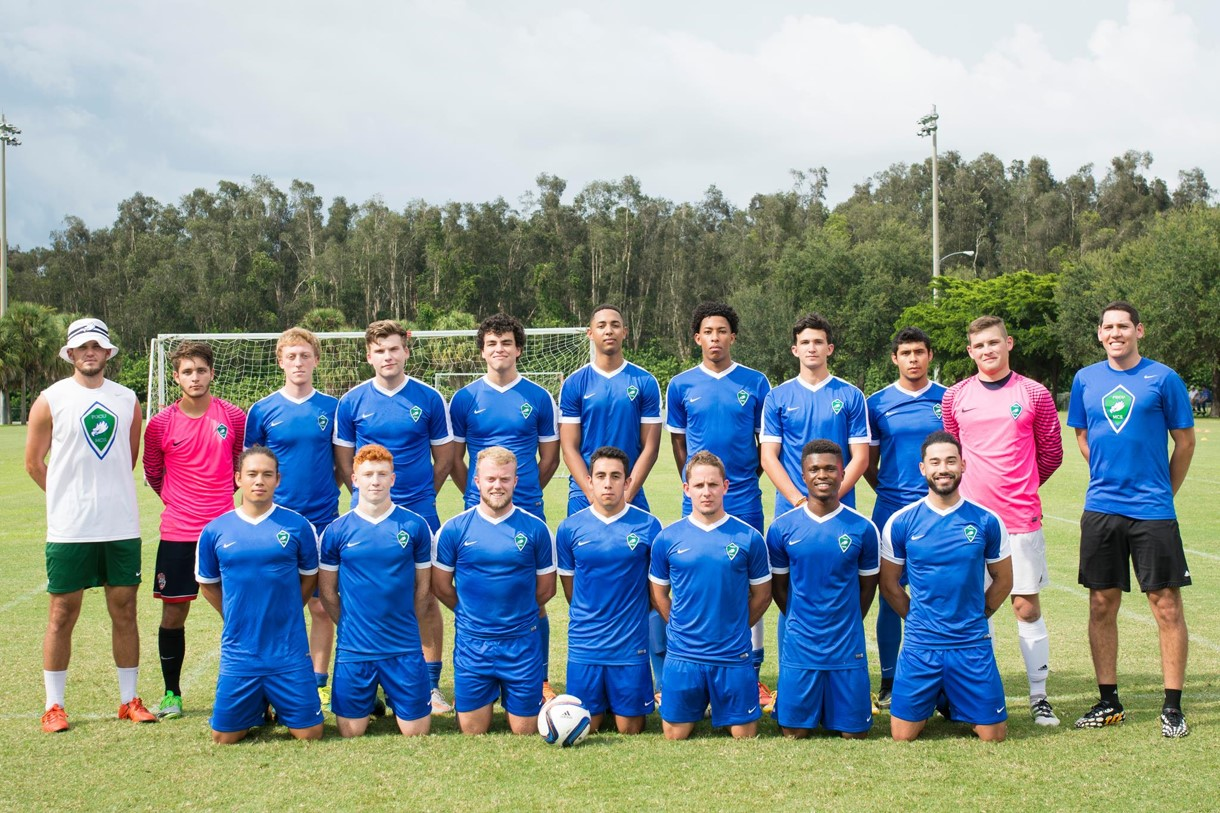 Men's Club Soccer Team Photo Fall 2016