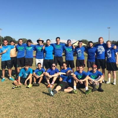 Ultimate Frisbee Team Photo