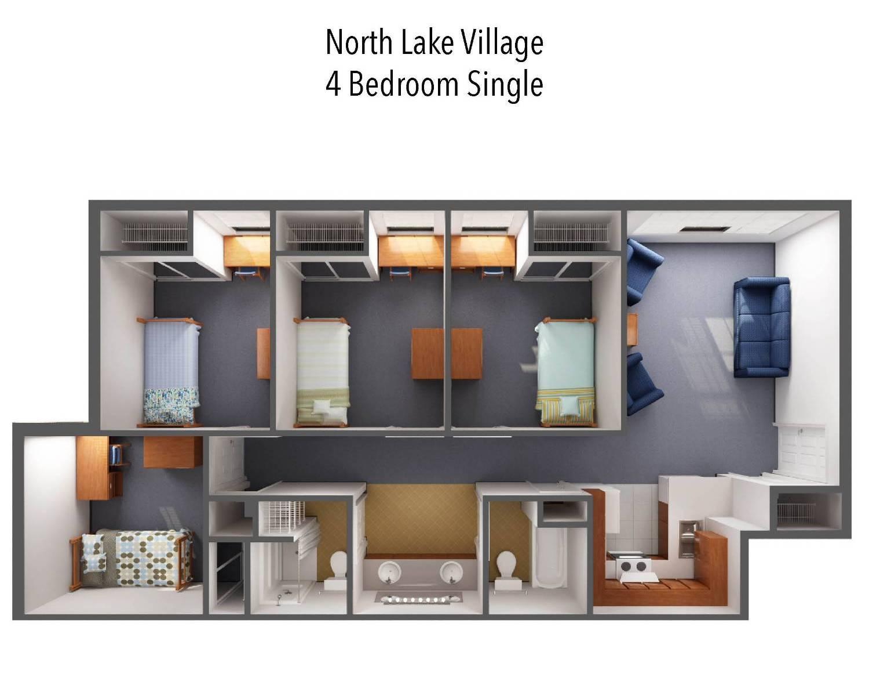 North Lake Village